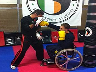 Wheelchair Self Defence Training