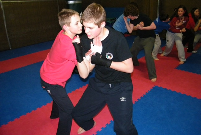 Teen Self Defence Training