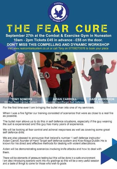 Fear Cure International Seminar 2015