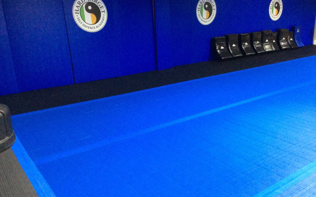 NEWS!! Check out our NEW Tatami matted training area.