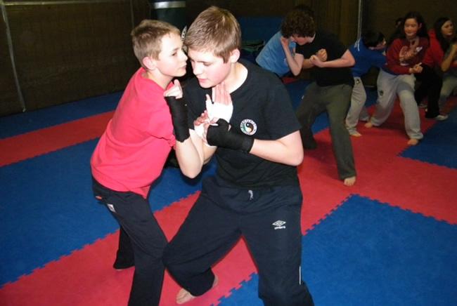 Teen Self Defence Training
