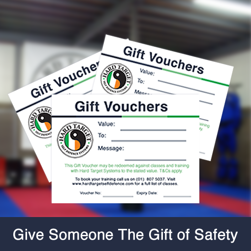Self-Defence Gift Vouchers.