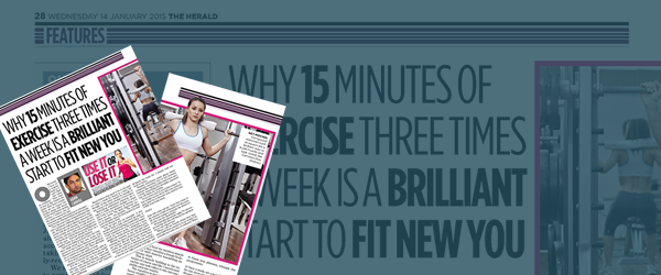 The Herald Feature – 15 Minutes of Fitness